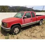 1994 GMC Pickup truck. Model 1500 Sierra. Engine V-8 5.7. Gasoline fueled. Built in Canada. VIN No:�