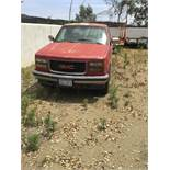 1996 GMC Pickup Truck model Sierra. Engine series V-8 5.0L. Gasoline fueled. Built in USA. VIN No:�1