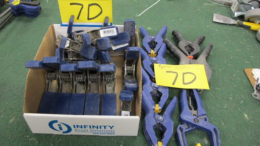 Lot 7D - QTY. OF IRWIN VISE CLAMPS
