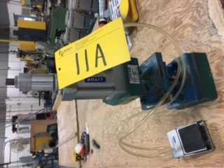 Lot 11A - TABLE TOP PNEUMATIC PUNCH