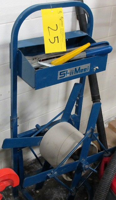 Lot 25 - SHIIMEEI STRAPPING UNIT W/TOOLS