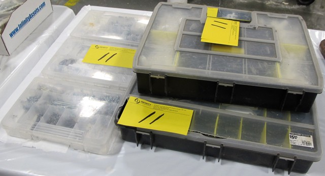 Lot 11 - LOT OF 6 BOXES OF STANLEY FASTENER KITS