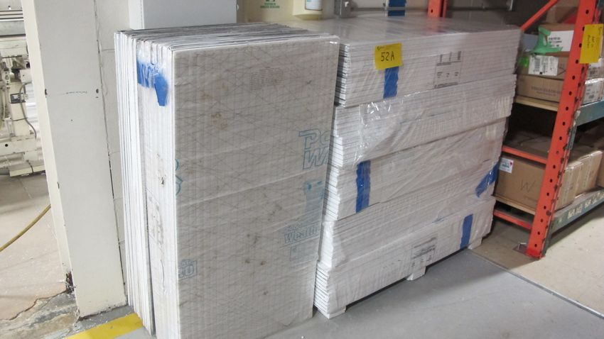 Lot 52A - WEATHERALL INSULATING PANELS (7 BUNDLES)