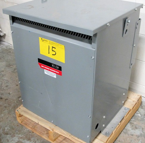 Lot 15 - REX POWER MAGNETICS TRANSFORMER, 45 KVA, 3 PHASE