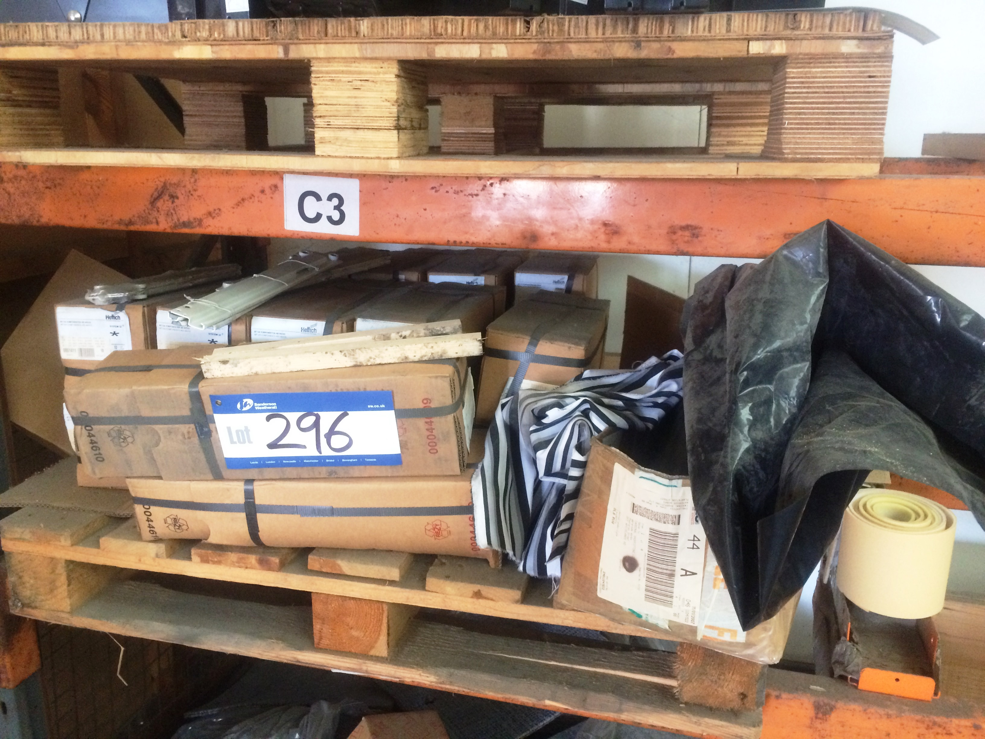 Lot 296 - Quantity of Hettich Drawer Runners (please note - this lot ...