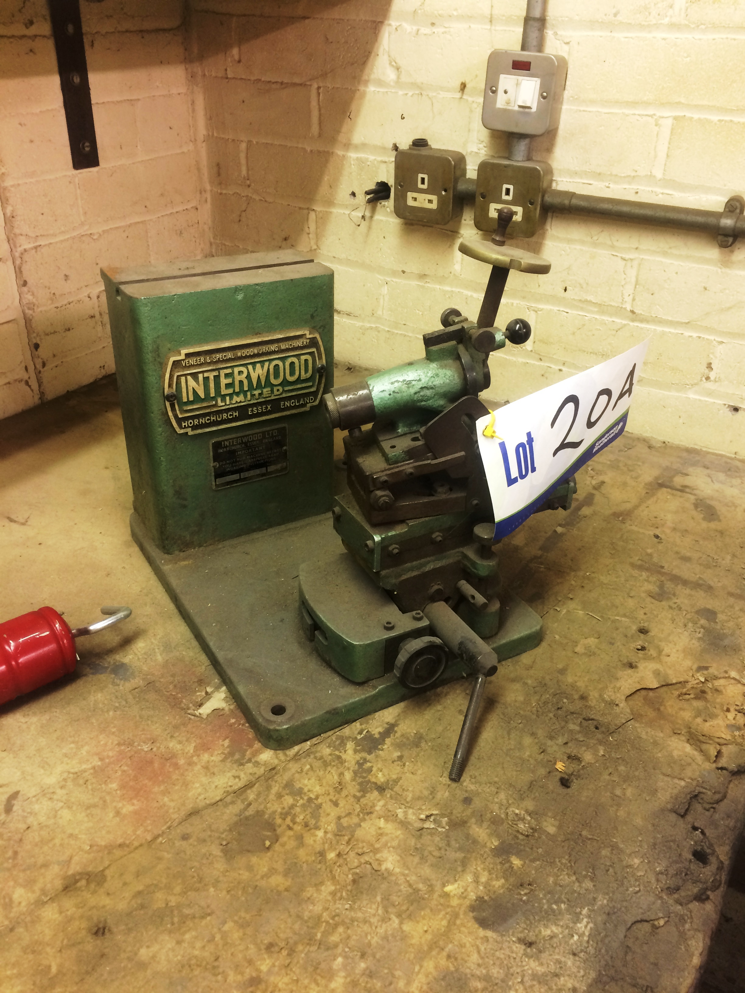 Interwood Tool Setting Stand (please note - this lot is available for ...