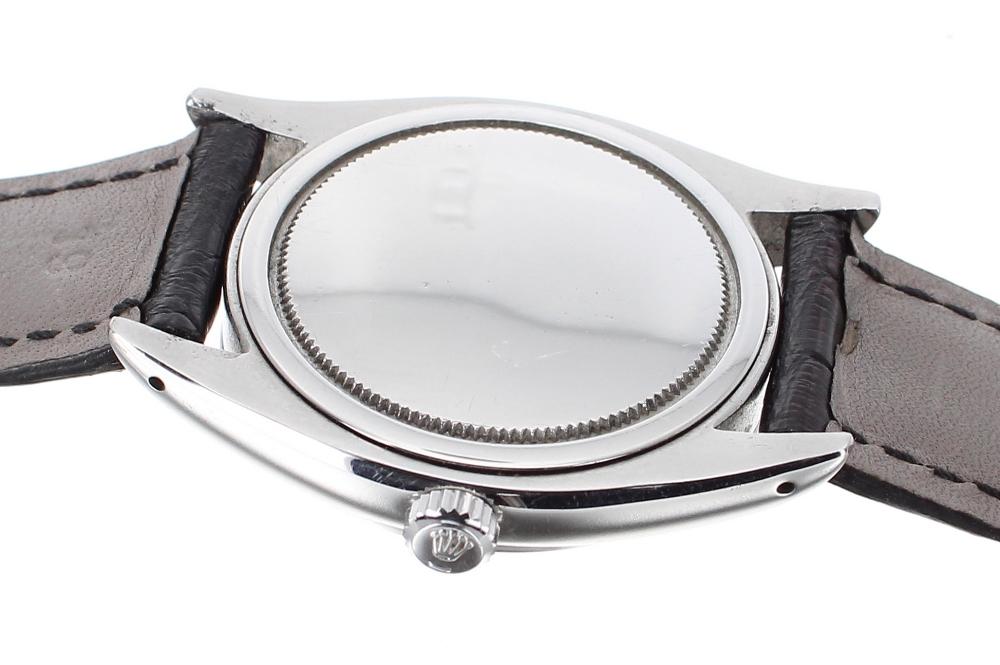 Lot 28 - Rolex Oysterdate Precision stainless steel gentleman's wristwatch, ref. 6494, ser. no. 3032.., circa