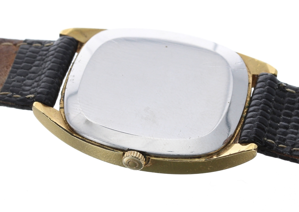 Lot 24 - Omega DeVille gold plated and stainless steel gentleman's wristwatch, ref. 111.0131, circa 1977,