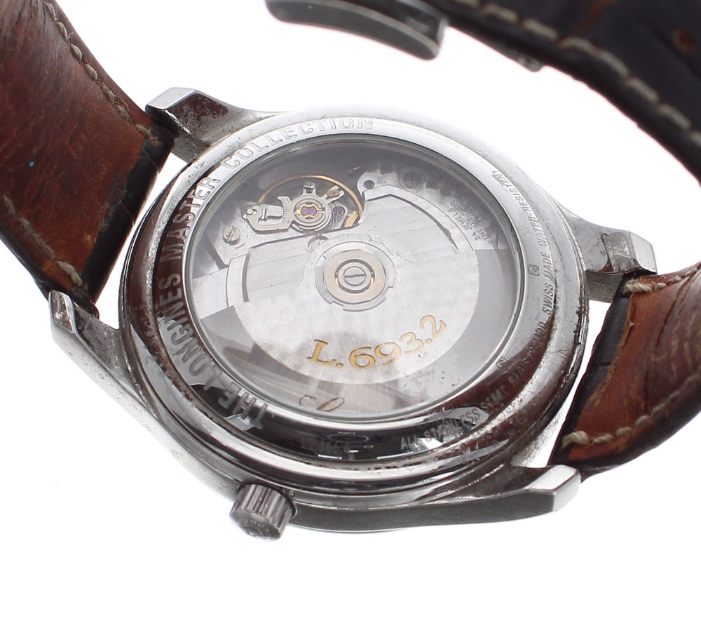 Lot 45 - Longines Master Collection automatic stainless steel gentleman's wristwatch, ref. L2.666.4, circular