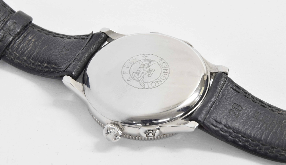 Lot 50 - Longines Lindbergh Hour Angle limited edition automatic stainless steel gentleman's wristwatch, ref.
