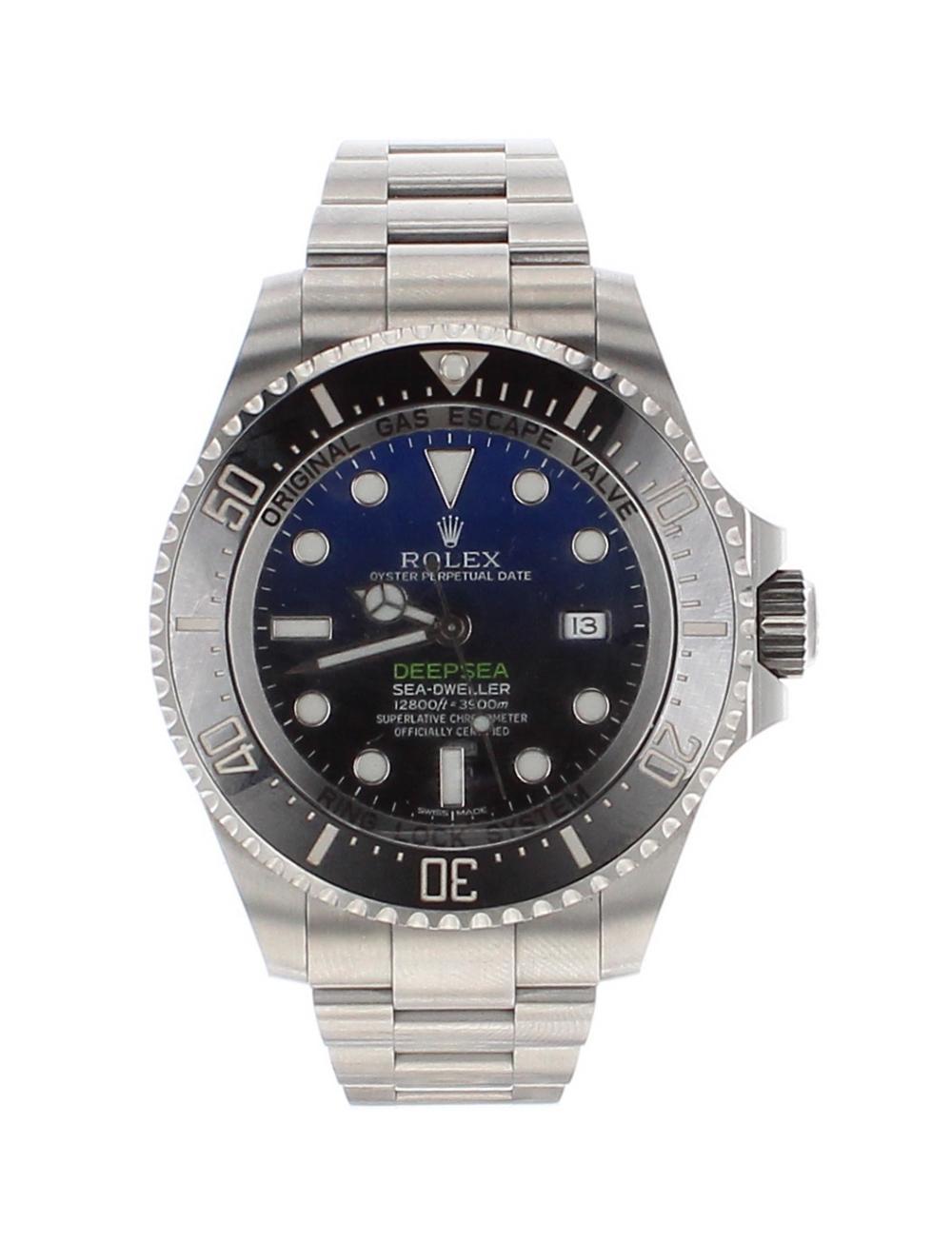 Lot 38 - Rolex Oyster Perpetual Date Deepsea Sea-Dwelller stainless steel gentleman's bracelet watch, ref.