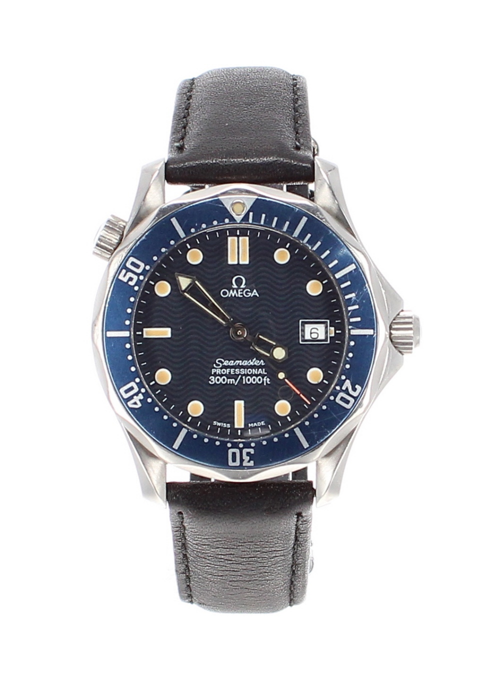 Lot 25 - Omega Seamaster Professional 300m mid size stainless steel gentleman's wristwatch, ref. 196 1502 /