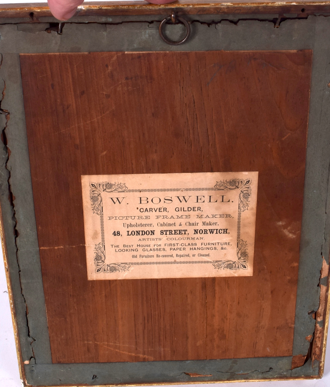 "Lot 2579 - AN ANTIQUE FRAMED WATERCOLOUR CREST, bearing the motto ""Alteri Si Tibi"". 28 cm x 21.5 cm."