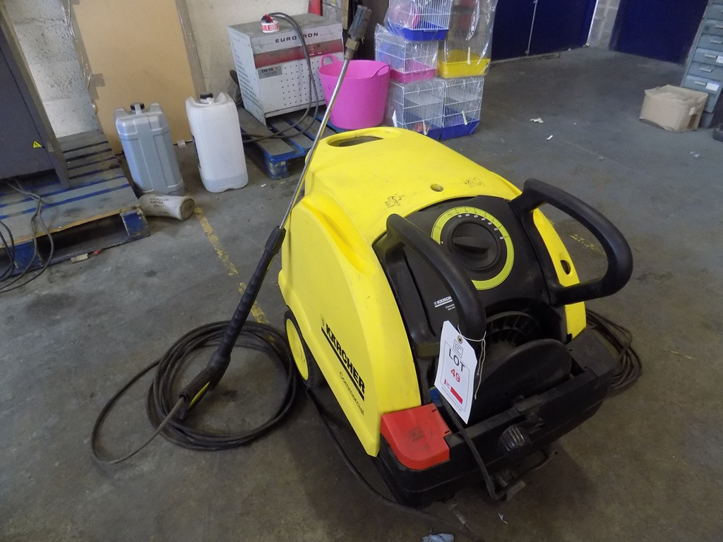 Karcher Commercial Hds 551 Ceo Diesel Heated Electric