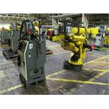 6-AXIS FANUC S-420iW ROBOT, S/N R0060B032 (2001), TYPE A05B-1313-B521, R-J2 CONTROL w/ TEACH PAD, (