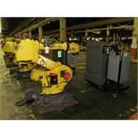 6-AXIS FANUC R-2000iA 165F ROBOT, S/N R03406552 (2003), TYPE A05B-1324-B203, R-J3iB CONTROL, (LOC.-
