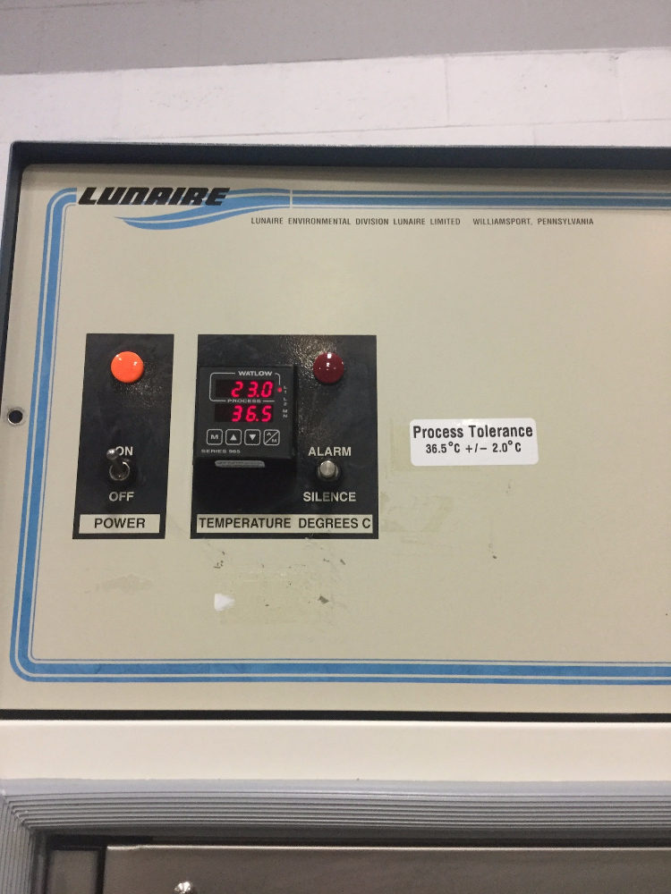 Lot 17 - Lunaire CE0932-1 Stability Test Chamber