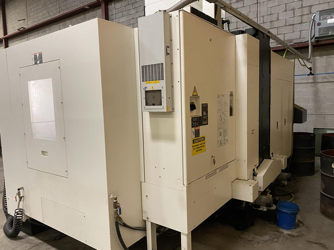 """YCM, NXV1680A, 3 AXIS, CNC VERTICAL MACHINING CENTRE, TRAVELS (X,Y,Z) 64"""", 30"""", 28"""", TABLE SIZE - Image 4 of 17"""