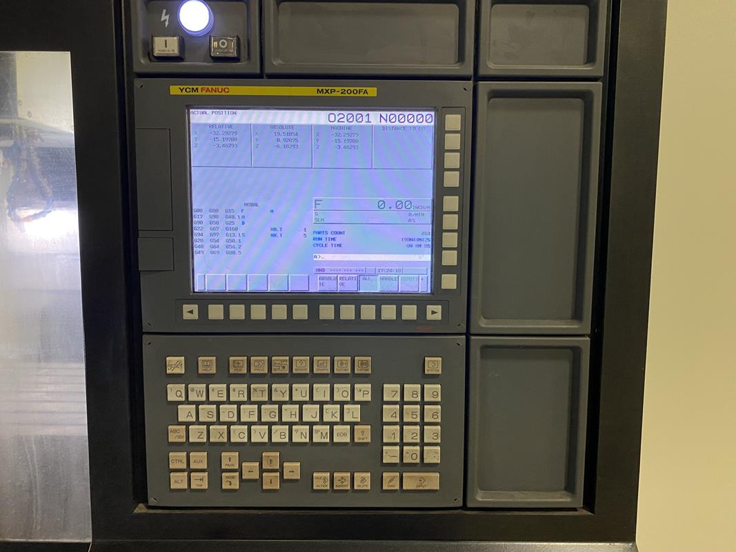 """YCM, NXV1680A, 3 AXIS, CNC VERTICAL MACHINING CENTRE, TRAVELS (X,Y,Z) 64"""", 30"""", 28"""", TABLE SIZE - Image 11 of 17"""