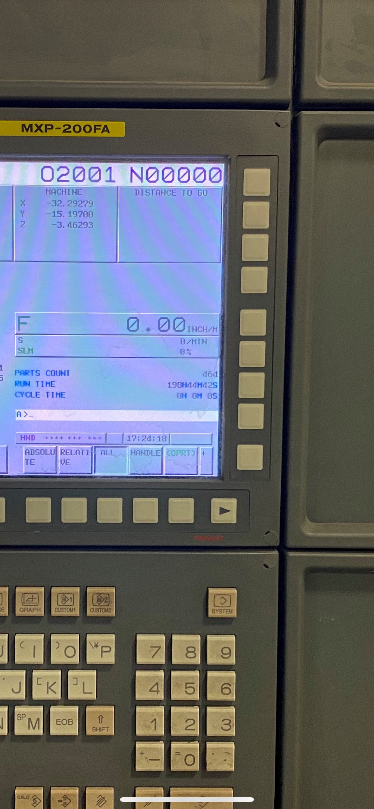 """YCM, NXV1680A, 3 AXIS, CNC VERTICAL MACHINING CENTRE, TRAVELS (X,Y,Z) 64"""", 30"""", 28"""", TABLE SIZE - Image 12 of 17"""