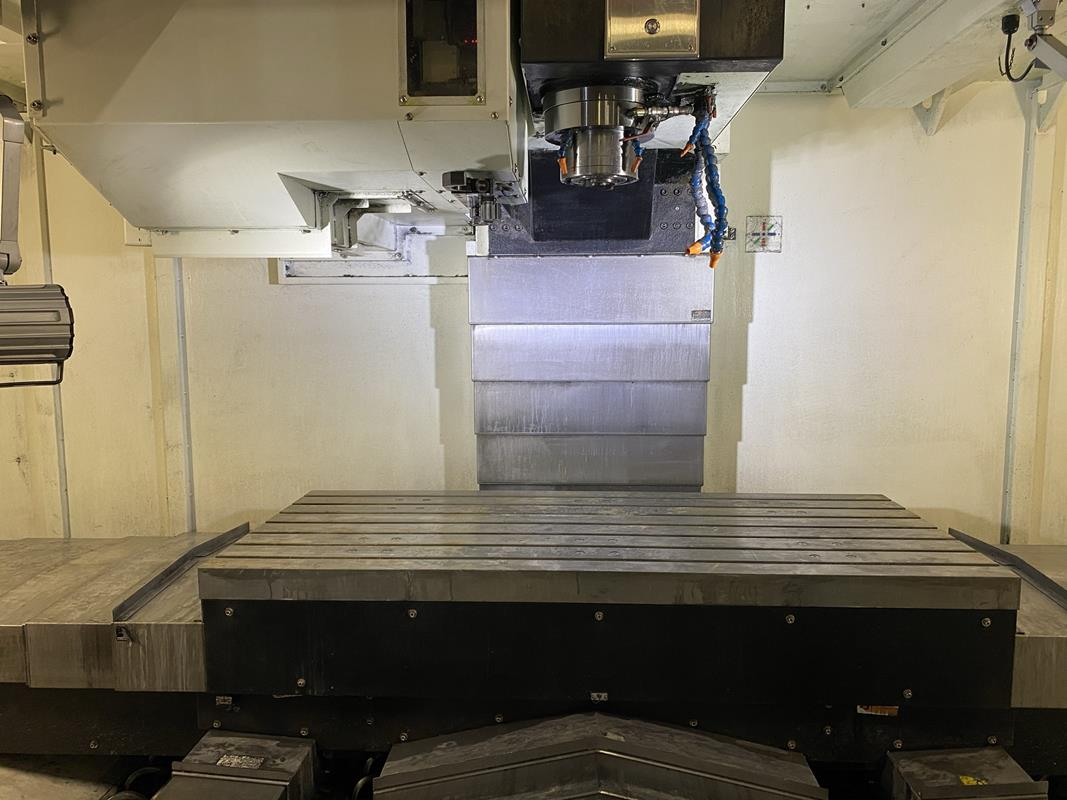 """YCM, NXV1680A, 3 AXIS, CNC VERTICAL MACHINING CENTRE, TRAVELS (X,Y,Z) 64"""", 30"""", 28"""", TABLE SIZE - Image 6 of 17"""