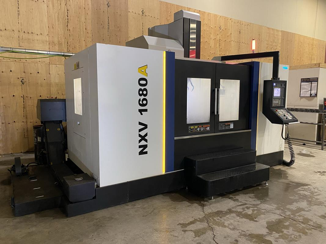 """YCM, NXV1680A, 3 AXIS, CNC VERTICAL MACHINING CENTRE, TRAVELS (X,Y,Z) 64"""", 30"""", 28"""", TABLE SIZE - Image 2 of 17"""