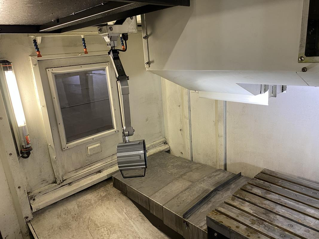 """YCM, NXV1680A, 3 AXIS, CNC VERTICAL MACHINING CENTRE, TRAVELS (X,Y,Z) 64"""", 30"""", 28"""", TABLE SIZE - Image 8 of 17"""
