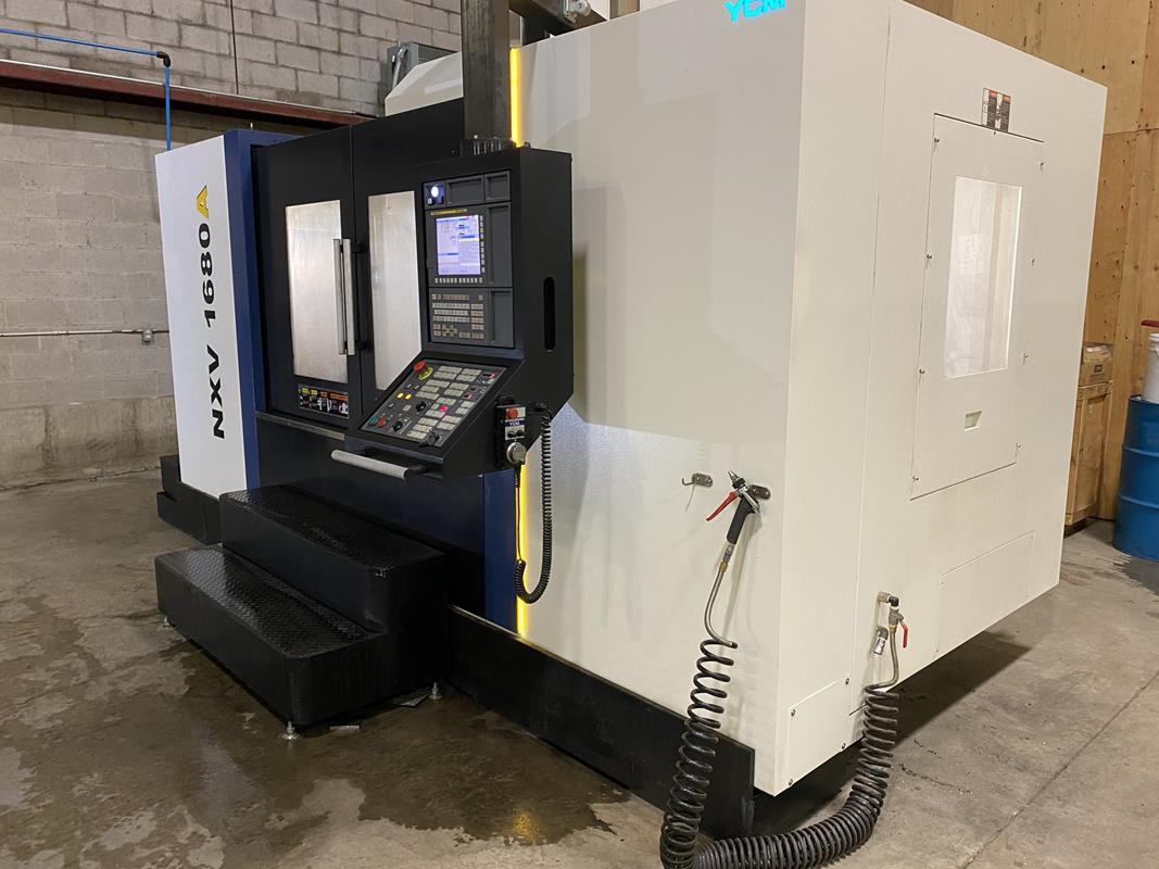 """YCM, NXV1680A, 3 AXIS, CNC VERTICAL MACHINING CENTRE, TRAVELS (X,Y,Z) 64"""", 30"""", 28"""", TABLE SIZE - Image 3 of 17"""