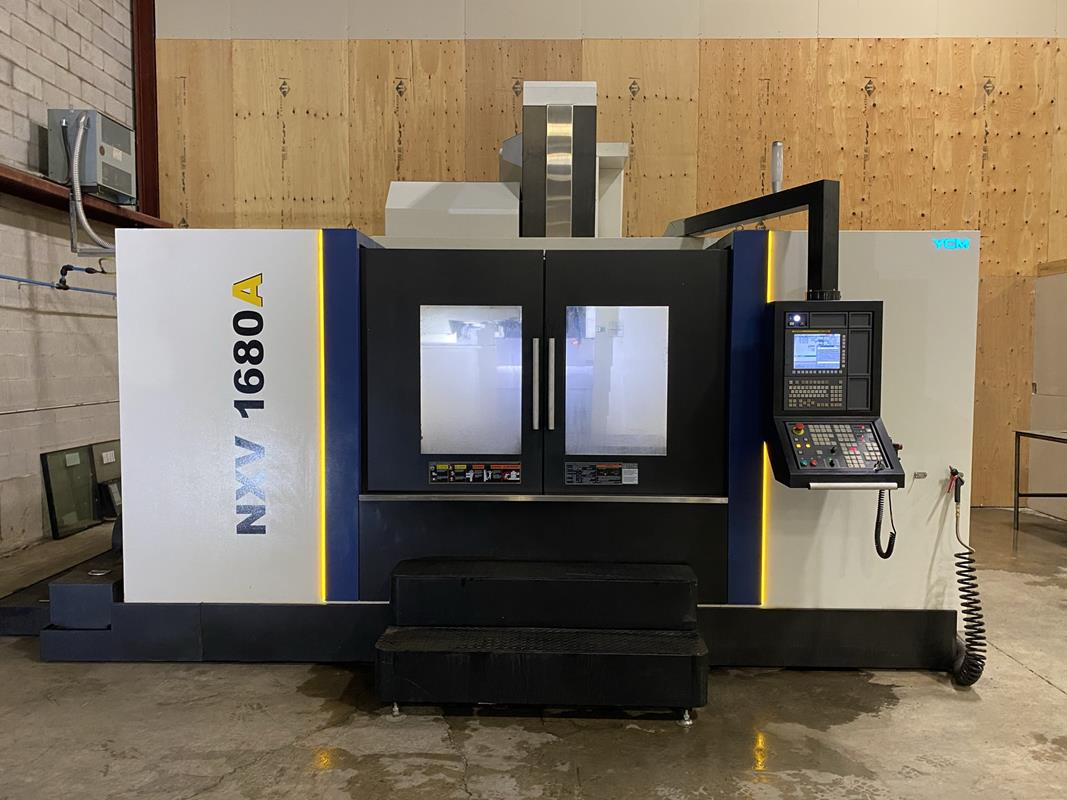 """YCM, NXV1680A, 3 AXIS, CNC VERTICAL MACHINING CENTRE, TRAVELS (X,Y,Z) 64"""", 30"""", 28"""", TABLE SIZE"""
