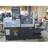 2011 Tsugami BE20-V Twin Spindle 5-Axis Live Tooling CNC Screw Machine s/n 6015 w/ Fanuc Series