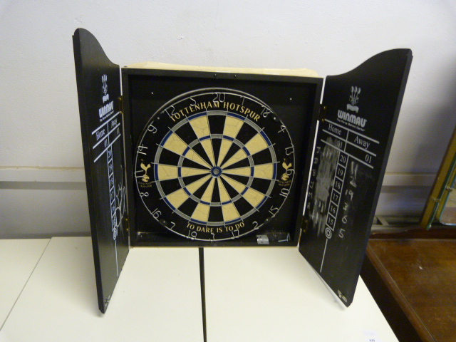Lot 428 - Dartboard in Cabinet