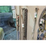 Lot 10 - ASSORTED LIFTING CHAINS