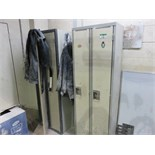 Lot 12 - (4) 2 DOOR LOCKER UNITS IN SHOP