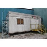 Lot 75 - 1ST AID TRAILER - 10 FOOT X 30 FOOT