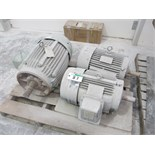Lot 87 - PALLET OF 3 MOTORS
