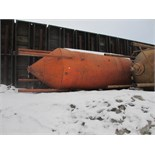 Lot 67 - STEEL SILO - ON GROUND WEST SIDE OF , PROPERTY - 12' x approx. 35' on legs