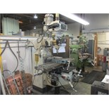 Lot 39 - CINCINNATI VERTICAL MILLING MACHINE, MODEL , BOBCAT, S/N 10651, 12 INCH X 50 INCH TABLE, 5 HP/460 (