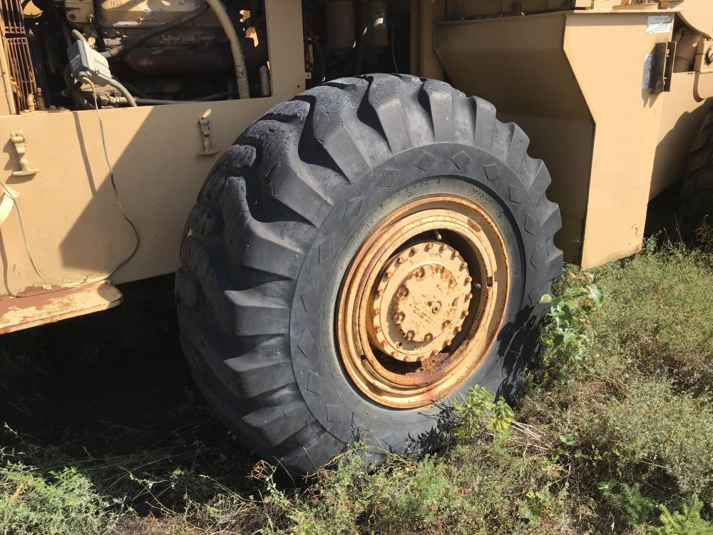Lot 18 - Chargeur sur roues Michigan 125B, année et hres N/D, diesel Série: 441D247CAC #195 papier en transit