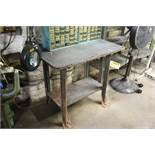 "36""x24""x34"" WORKBENCH WITH ARTICULATING ARM INSPECTION LAMP"