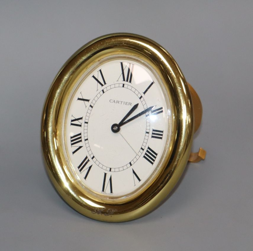 Lot 319 - A Cartier timepiece