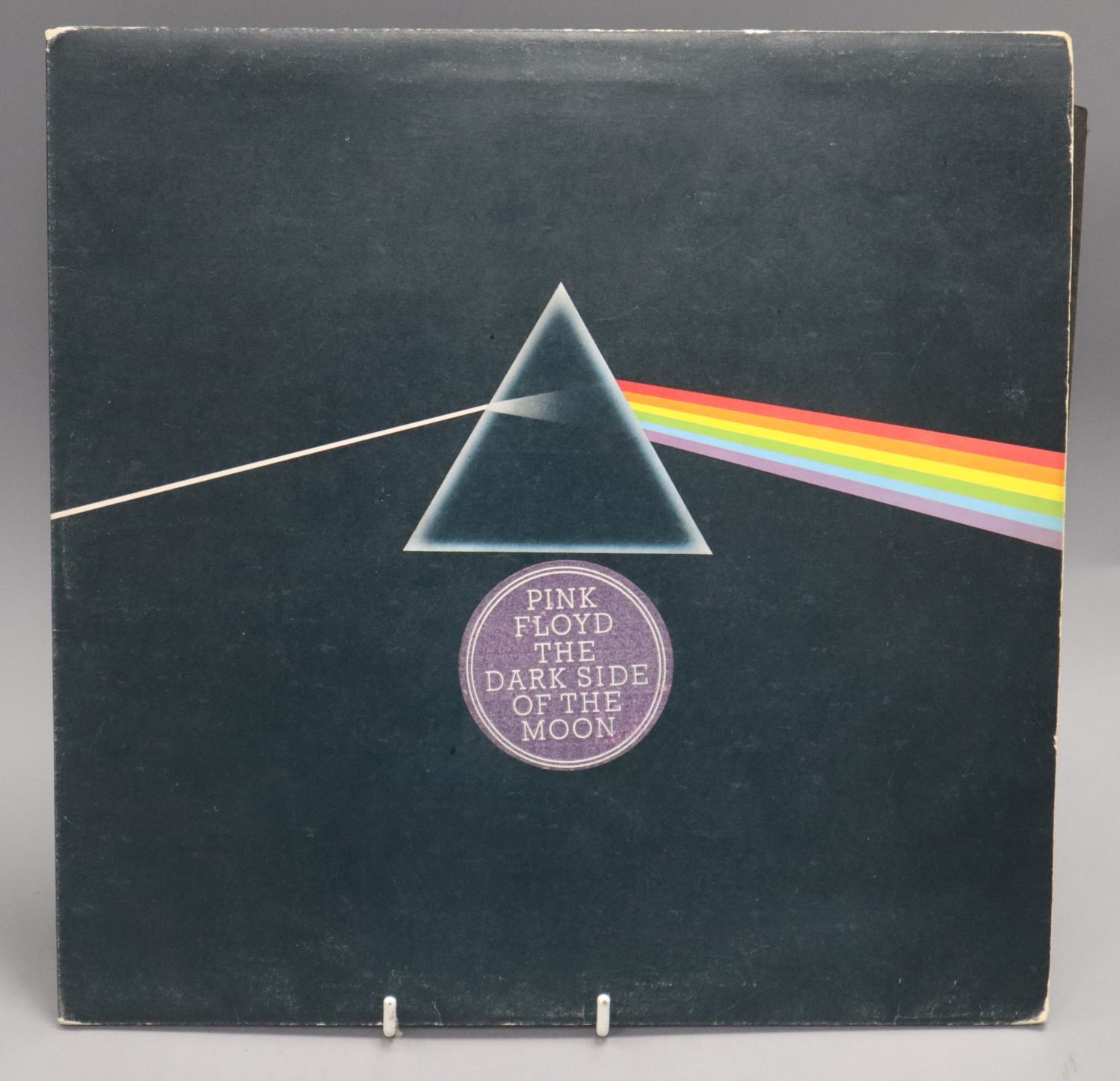 Lot 109 - Pink Floyd The Dark Side of The Moon (First Press with Solid Blue Triangle)
