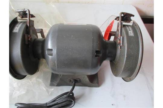 Swell Collins Quality 6 Bench Grinder Model Lf 137 Sn 7G14029 Andrewgaddart Wooden Chair Designs For Living Room Andrewgaddartcom