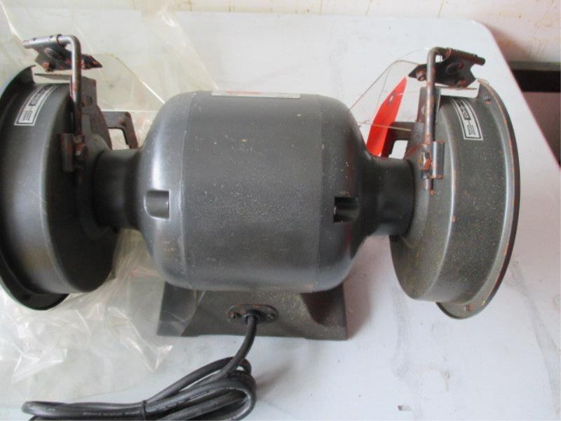 Collins Quality 6 Quot Bench Grinder Model Lf 137 Sn