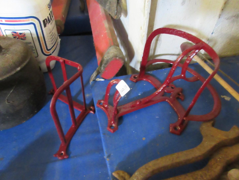 Lot 12 - Matching pair of harness hooks