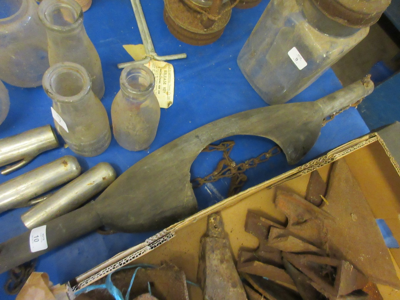 Lot 10 - Early 20th century wooden yoke