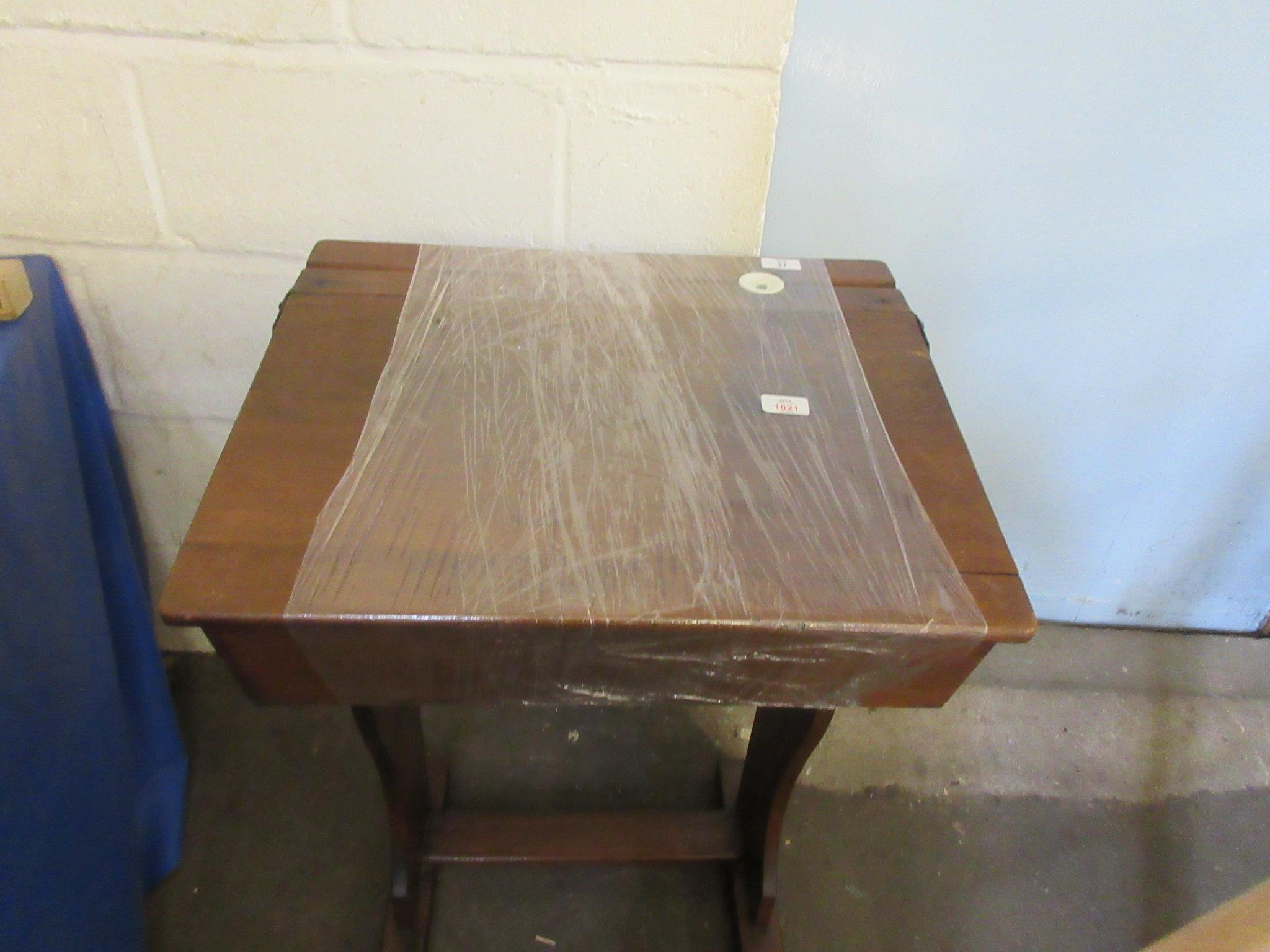 Vintage lift up school desk