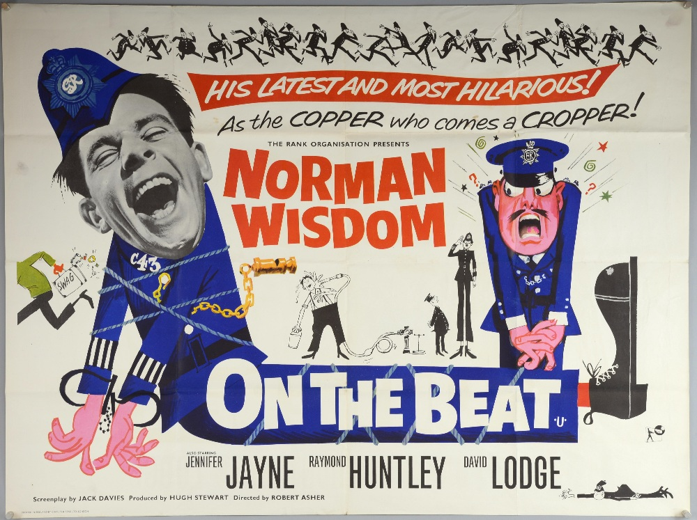 On The Beat (1962) British Quad film poster, comedy ...