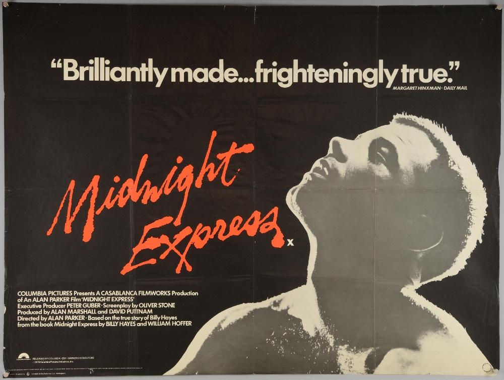 Five Drama British Quad film posters including Midnight Express ...