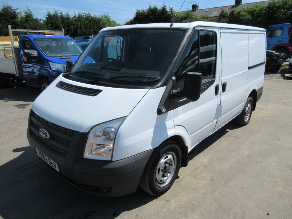 Lot 21 - 62 reg FORD TRANSIT 100 T280 SWB, 1ST REG 10/12, TEST 05/19, 122911M NOT WARRANTED, V5 HERE, 1