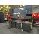 Strippit LVD 150 Ton Hydraulic Press Brake Model 150BH10 CAD-CNC, S/N 25371 (1998), 120 in. Overall,